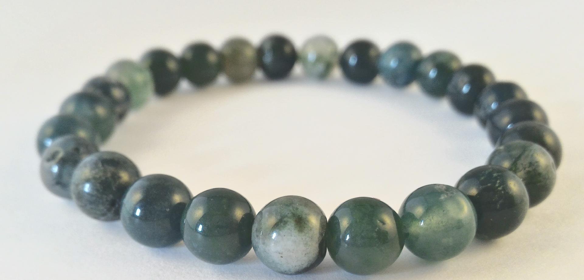 0201 bracelet agate mousse 3