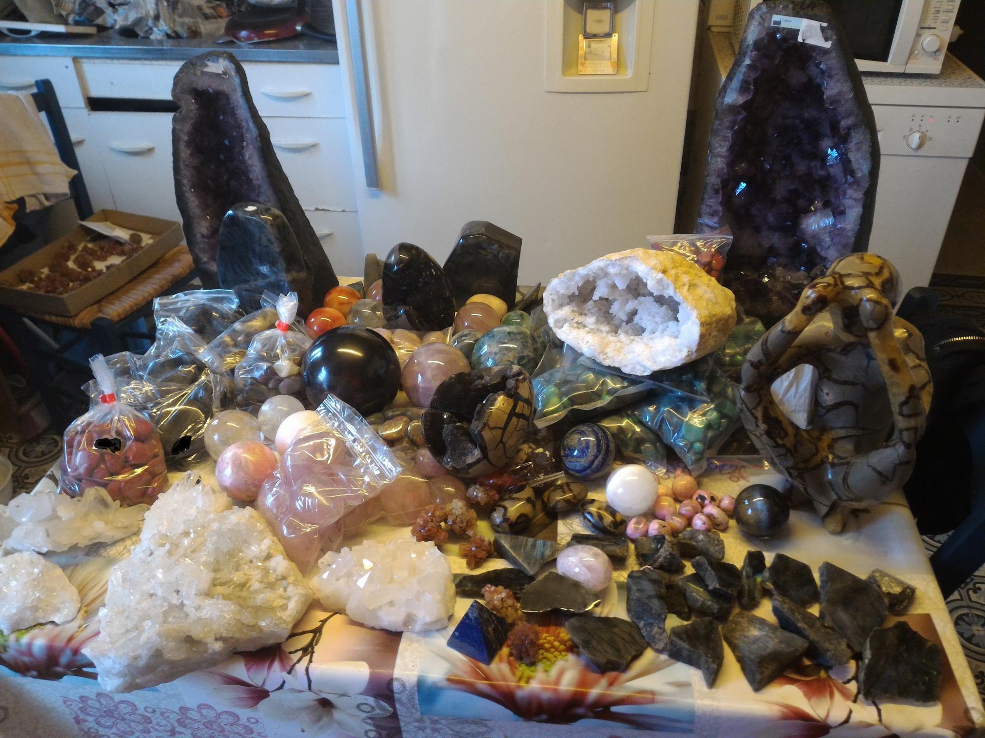 Lithothérapie, propriétés des minéraux