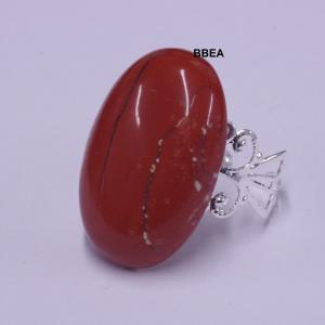 Bague jaspe rouge 1
