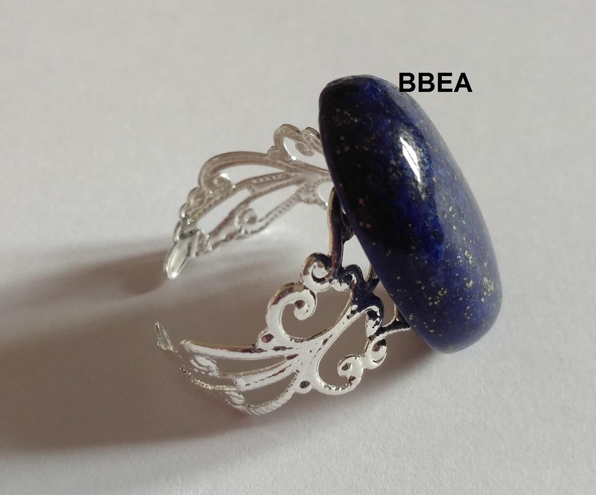 Bague lapis lazuli 2