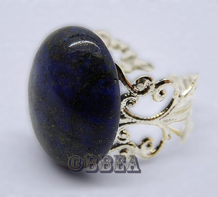 bague lapis lazuli pierre de la confiance en soi. Black Bedroom Furniture Sets. Home Design Ideas