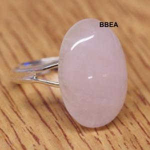 Bague quartz rose 2 1