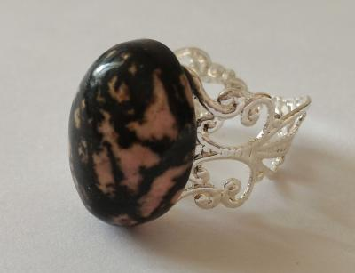 Bague rhodonite 4