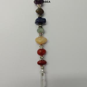 Baton d energie 7 chakras et cristal de roche 2
