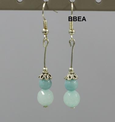 Boucles amazonite 1