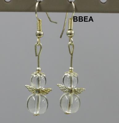 Boucles cristal de roche 2