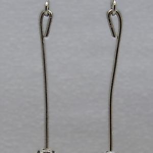 Boucles d oreilles hematite 3680