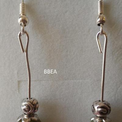 Boucles d oreilles jade 1