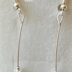 Boucles d oreilles malachite 8