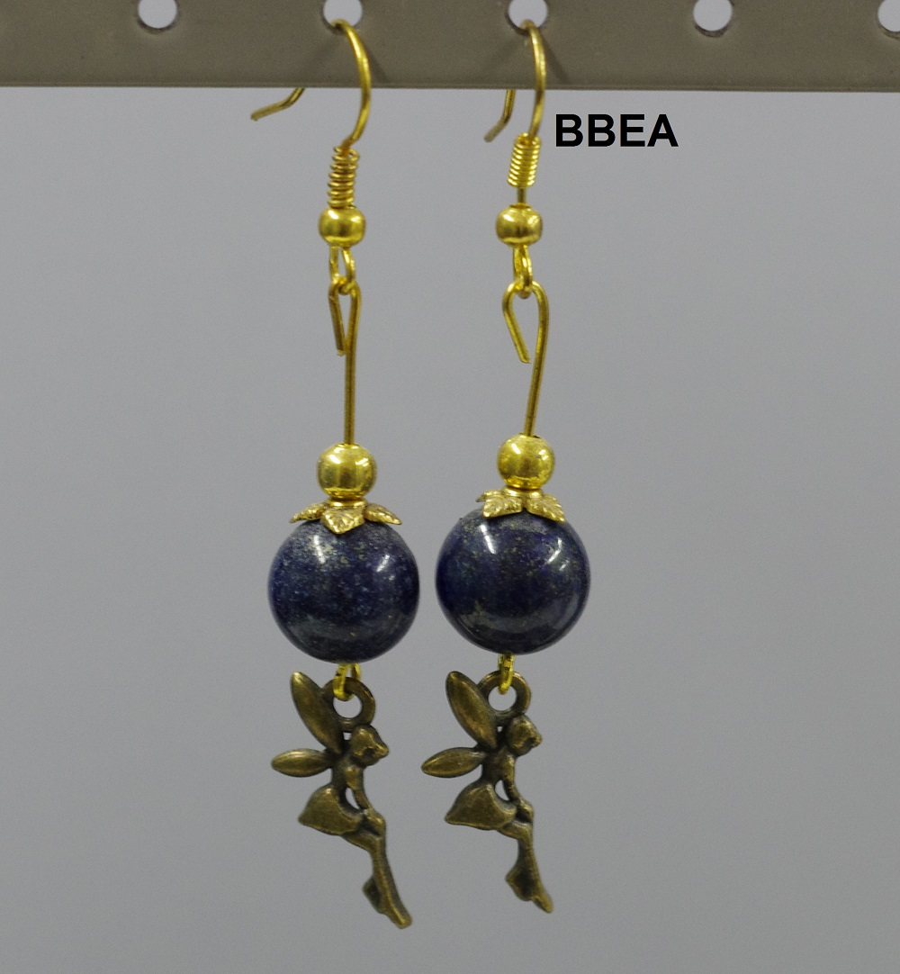 Boucles lapis lazuli 2 1