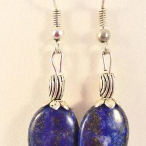 Boucles lapis lazuli 4