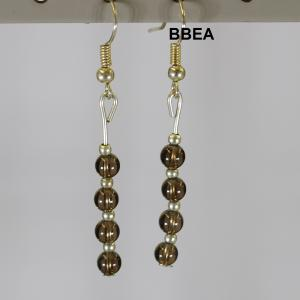 Boucles quartz fume 2 2