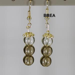 Boucles quartz fume 2