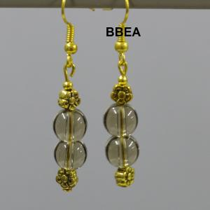 Boucles quartz fume 3