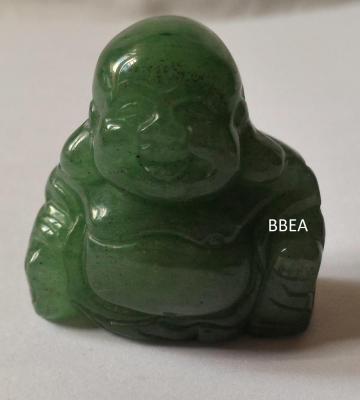 Bouddha aventurine verte 38g 4x3 8cm