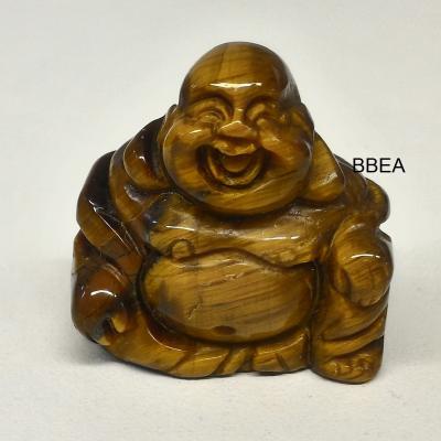 Bouddha oeil de tigre 30x30x15mm