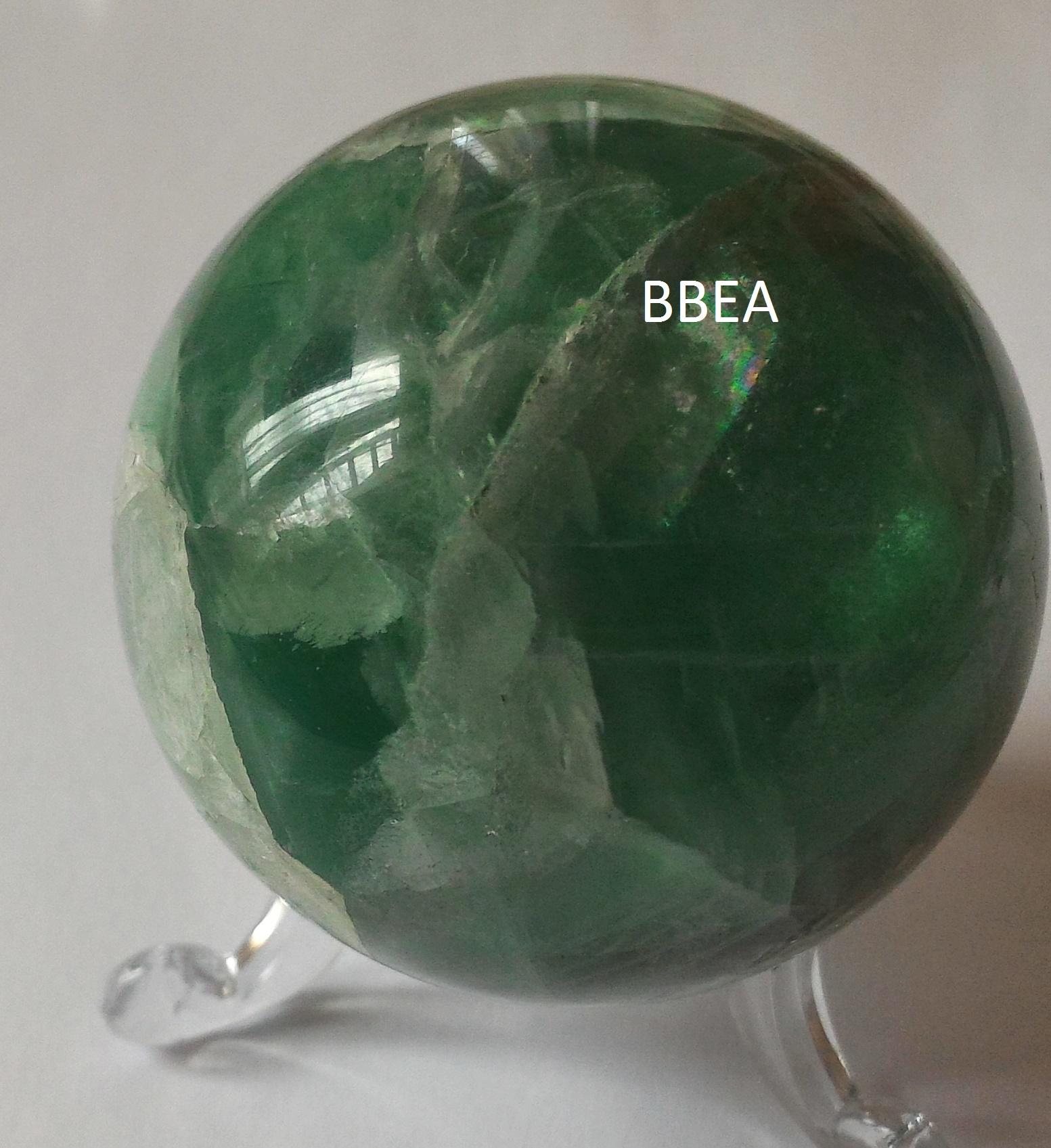 Boule fluorine fluorite 1