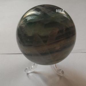 Boule fluorine fluorite verte 1