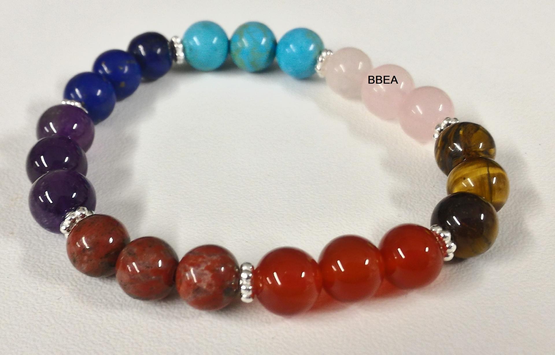 Bracelet 7 chakras 7