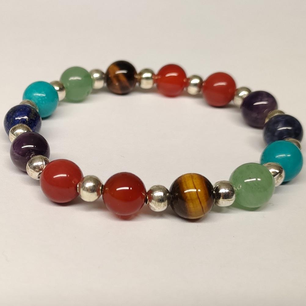 Bracelet 7 chakras 8