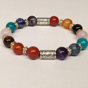 Bracelet 7 chakras 9