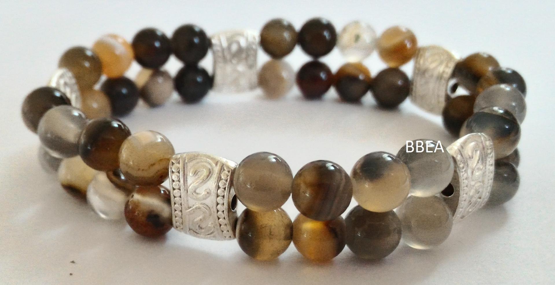 Bracelet agate 1