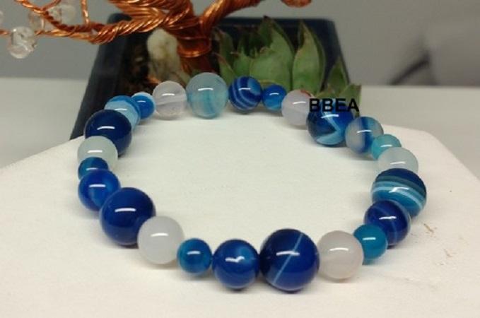 Bracelet agate 2 1