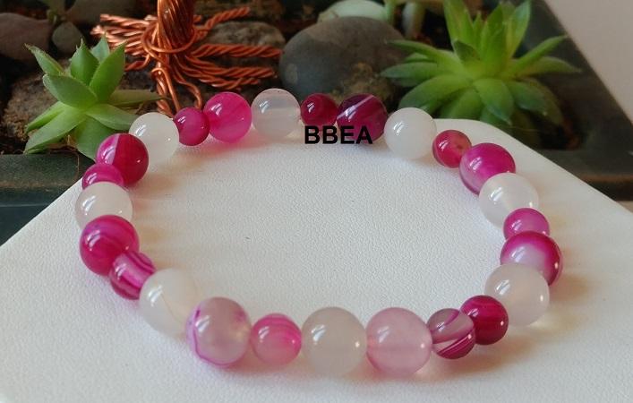 Bracelet agate 4