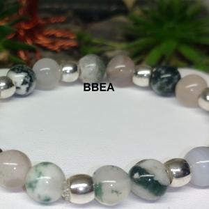 Bracelet agate arbre 1