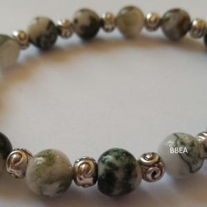 Bracelet agate arbre 2