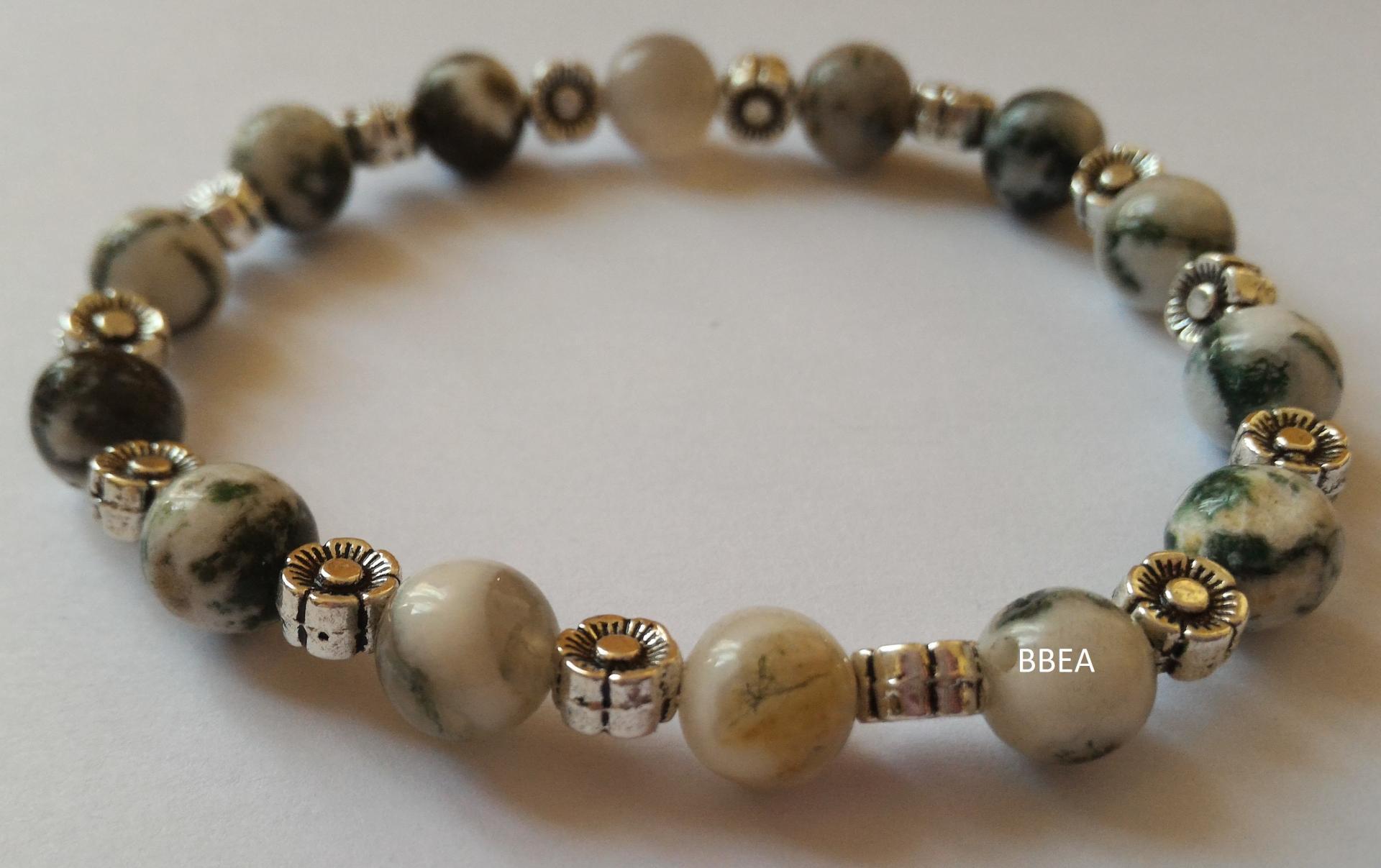 Bracelet agate arbre 3