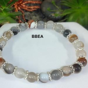 Bracelet agate botswana 1