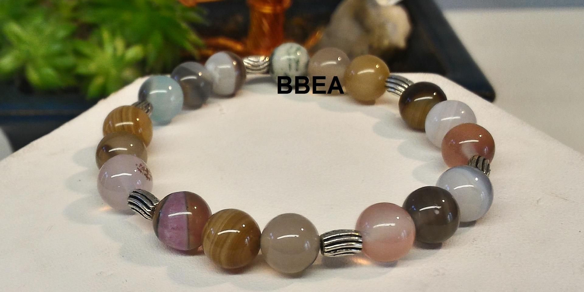 Bracelet agate botswana 2 1