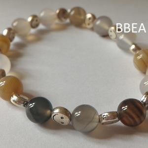 Bracelet agate botswana 2