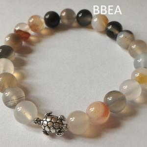 Bracelet agate botswana 4