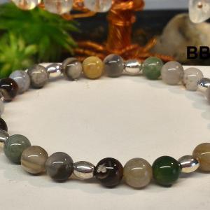 Bracelet agate botswana