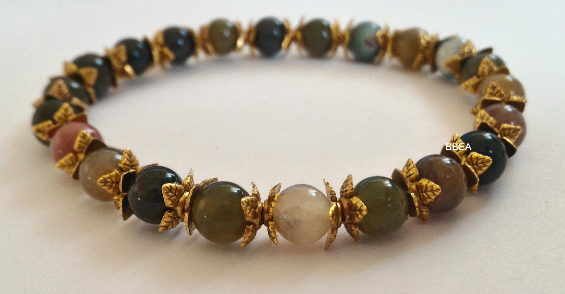 Bracelet agate indienne 2 1