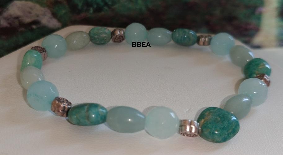 Bracelet amazonite 2