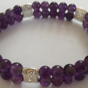 Bracelet amethyste 1