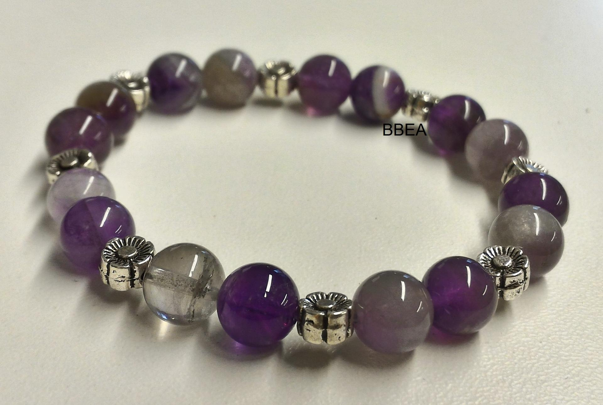 Bracelet amethyste 2