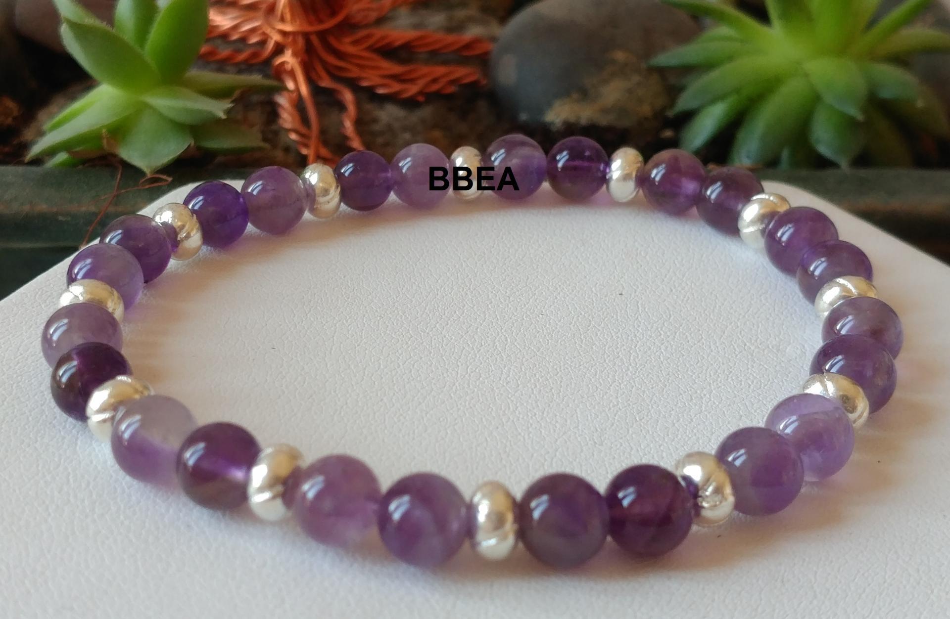 Bracelet amethyste 3 3