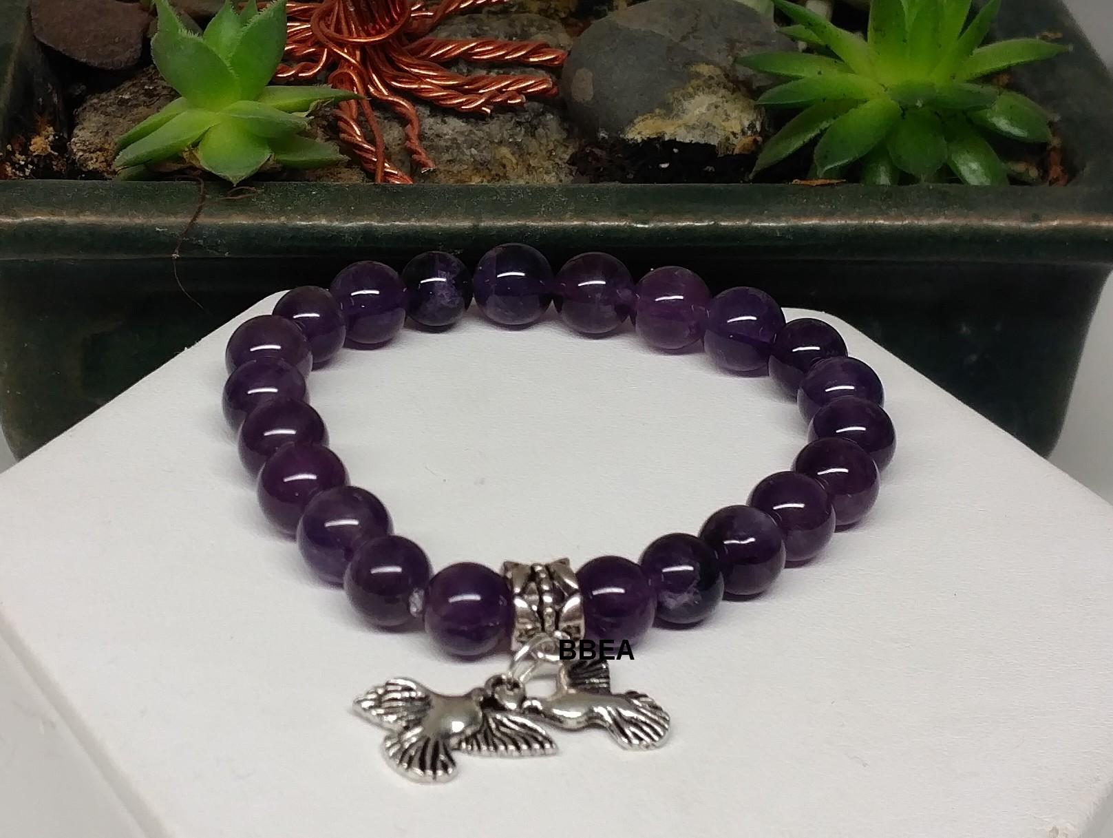Bracelet amethyste 4 4