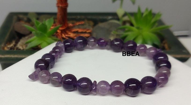 Bracelet amethyste 4