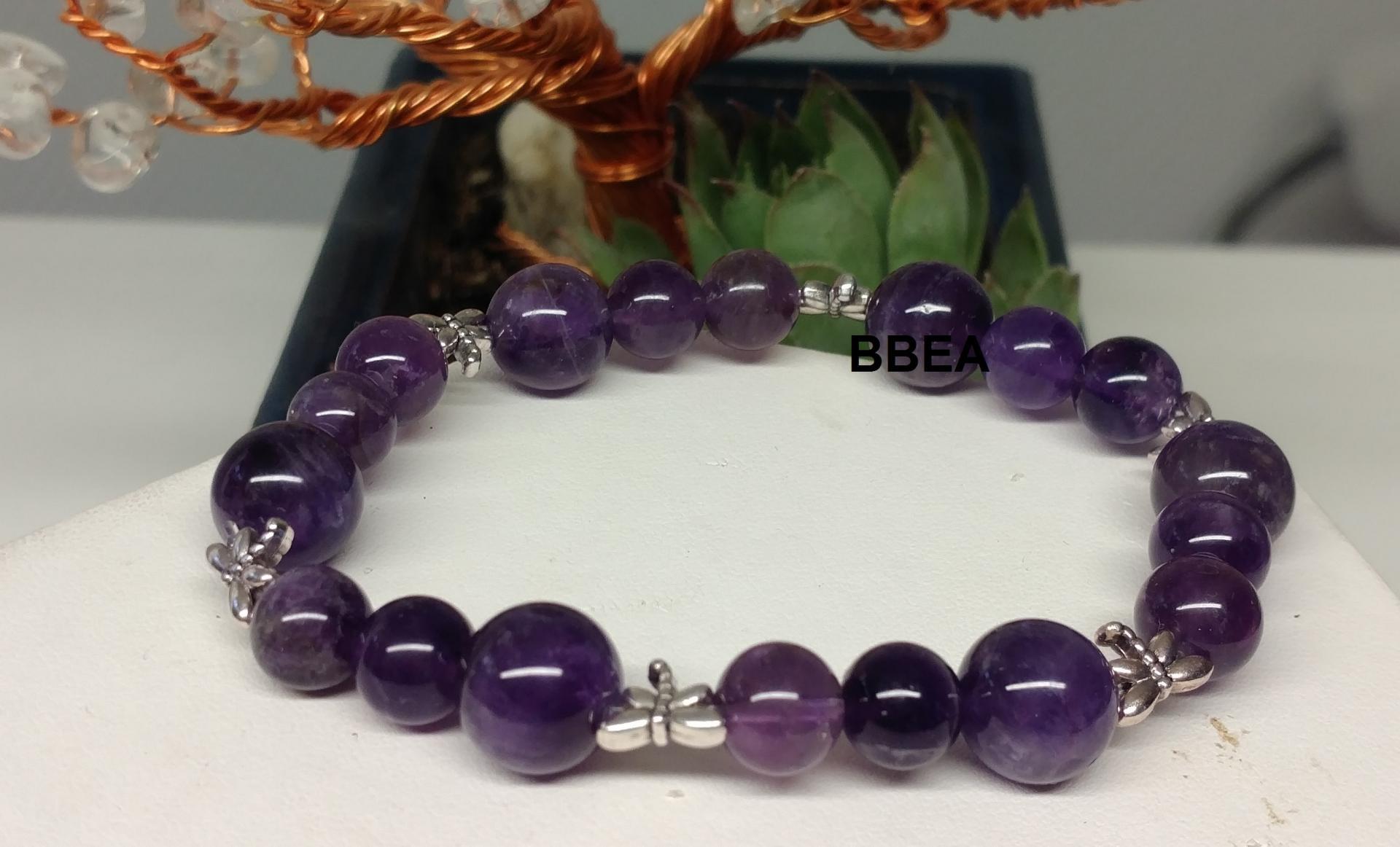 Bracelet amethyste 5 1