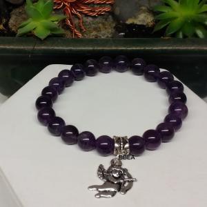 Bracelet amethyste 5 2