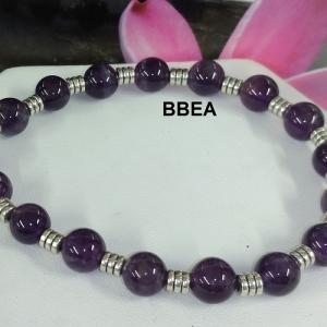 Bracelet amethyste 5