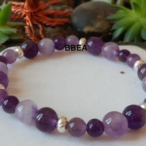 Bracelet amethyste 6 1