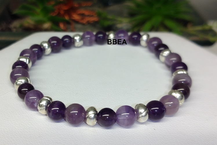 Bracelet amethyste 6
