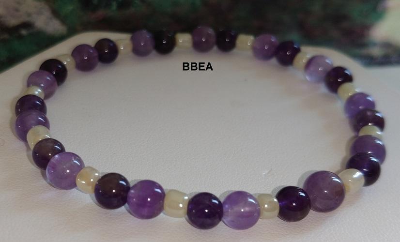 Bracelet amethyste 7