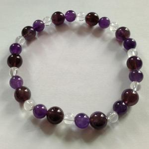 Bracelet amethyste 9
